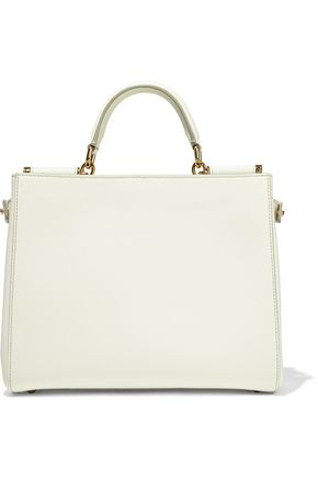 DOLCE & GABBANA Sicily textured-leather tote