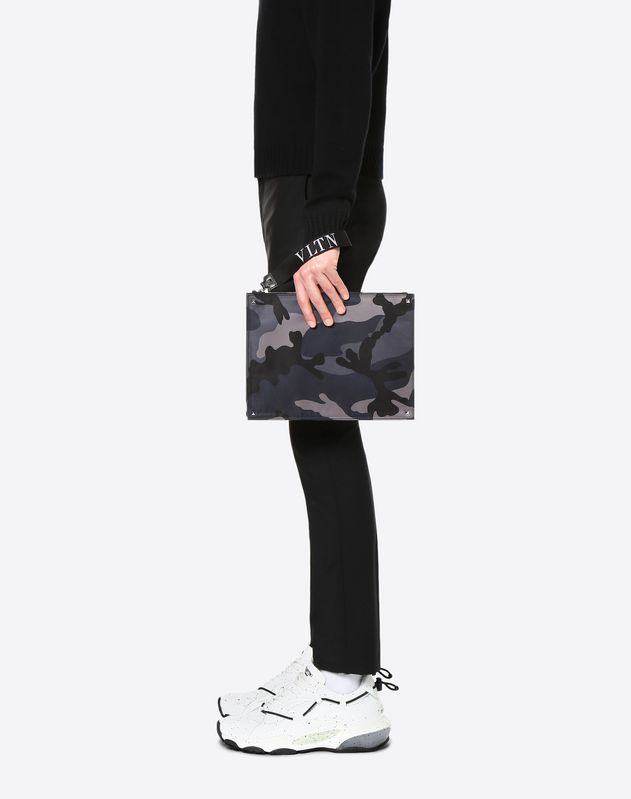 VLTN Camouflage Document Case