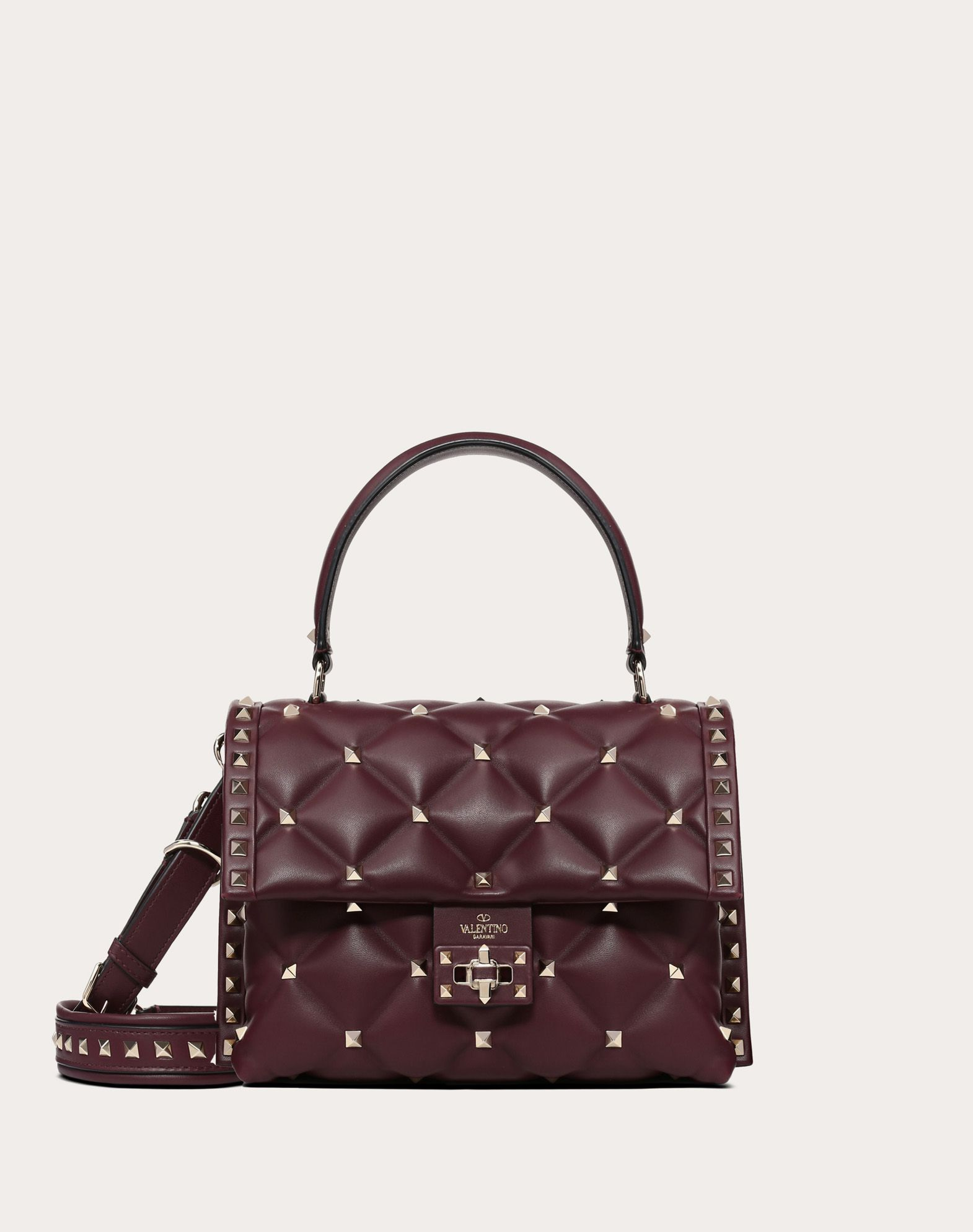 Medium Candystud top-handle bag