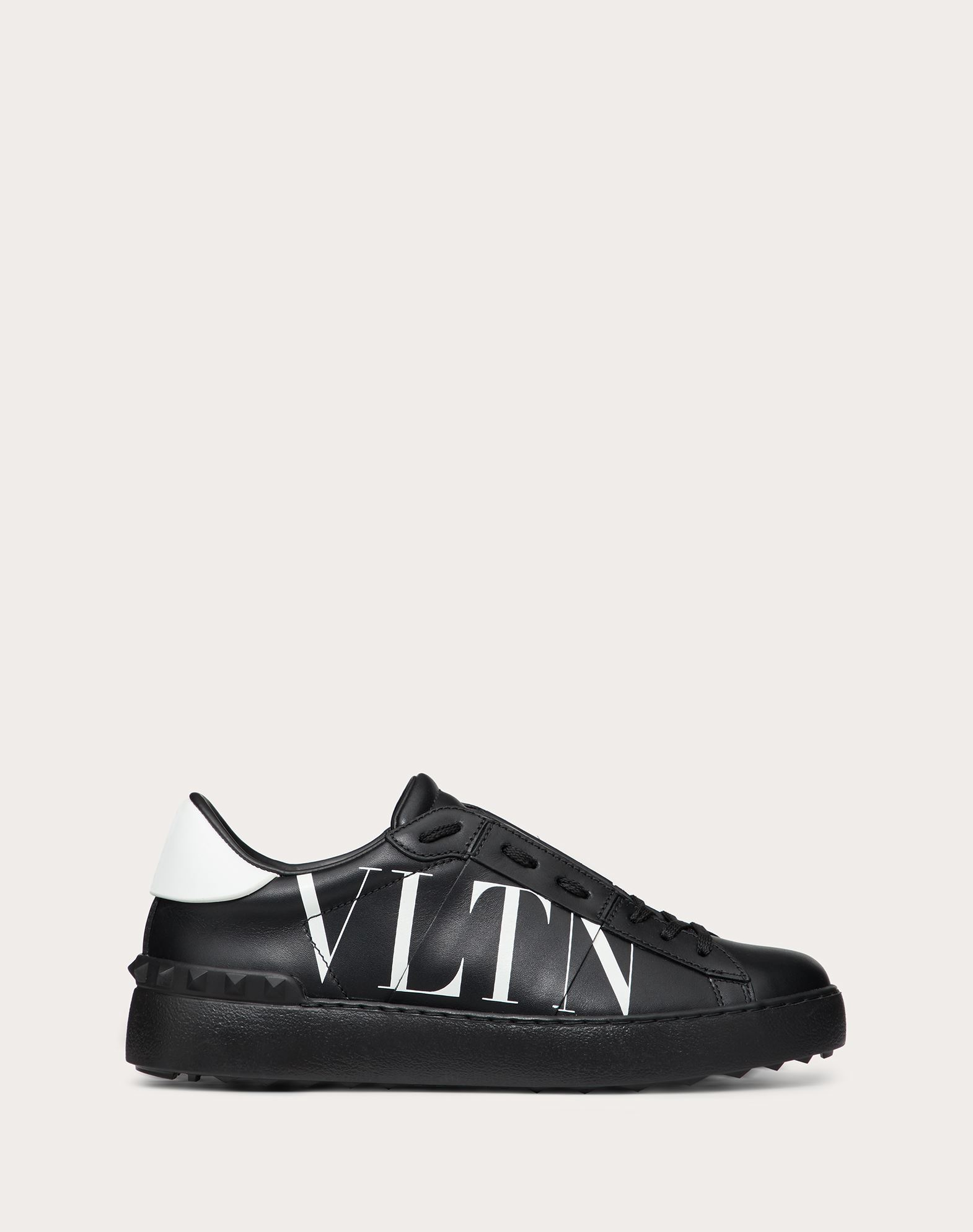 VLTN Open Sneaker in Calfskin Leather