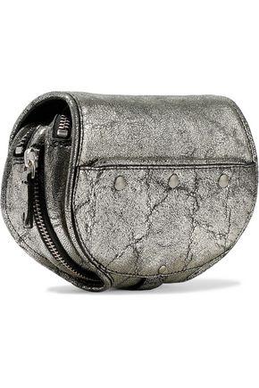 JÉrÔme Dreyfuss Momo Metallic Ed Leather Shoulder Bag