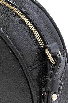 IRIS & INK April pebbled-leather shoulder bag