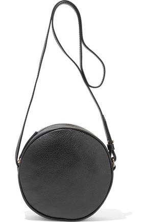IRIS & INK April pebbled-leather shoulder bag