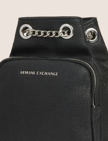 ARMANI EXCHANGE CHAIN DETAIL MINI BUCKET BACKPACK Backpack Woman a