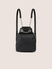 d956f28818c Armani Exchange CHAIN DETAIL MINI BUCKET BACKPACK , Backpack ...