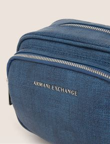 ARMANI EXCHANGE DOUBLE-ZIP BOXY CROSSBODY Crossbody bag Woman a