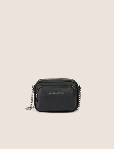DOUBLE-ZIP BOXY CROSSBODY