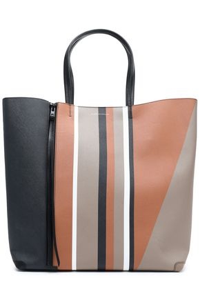 ELENA GHISELLINI Printed leather tote