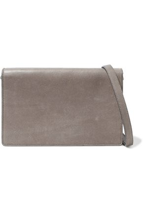 RICK OWENS Textured-leather shoulder bag