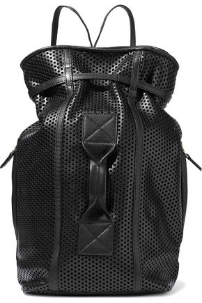 JÉRÔME DREYFUSS Laser-cut leather backpack