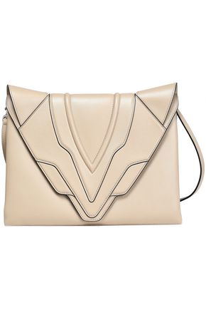 ELENA GHISELLINI Paneled leather shoulder bag