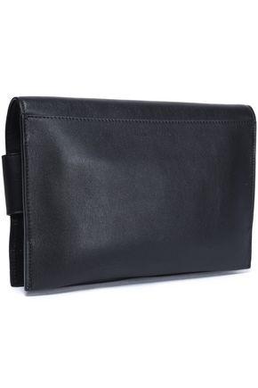 Elena Ghiini Embellished Leather Shoulder Bag