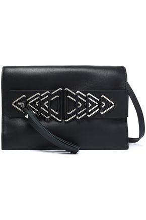 ELENA GHISELLINI Embellished leather shoulder bag