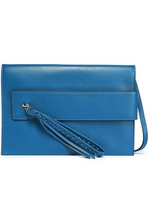 ELENA GHISELLINI Tasseled leather shoulder bag