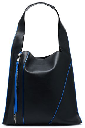 ELENA GHISELLINI Textured-leather shoulder bag