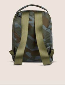 ARMANI EXCHANGE GEO CAMO PADDED BACKPACK Backpack [*** pickupInStoreShippingNotGuaranteed_info ***] d