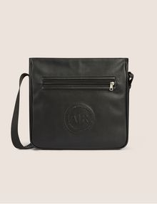 ARMANI EXCHANGE FAUX LEATHER CIRCLE LOGO CROSSBODY Crossbody bag [*** pickupInStoreShippingNotGuaranteed_info ***] f