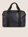 ARMANI EXCHANGE FAUX LEATHER CIRCLE LOGO BRIEF BAG Duffle Man d