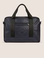 ARMANI EXCHANGE FAUX LEATHER CIRCLE LOGO BRIEF BAG Duffle Man f