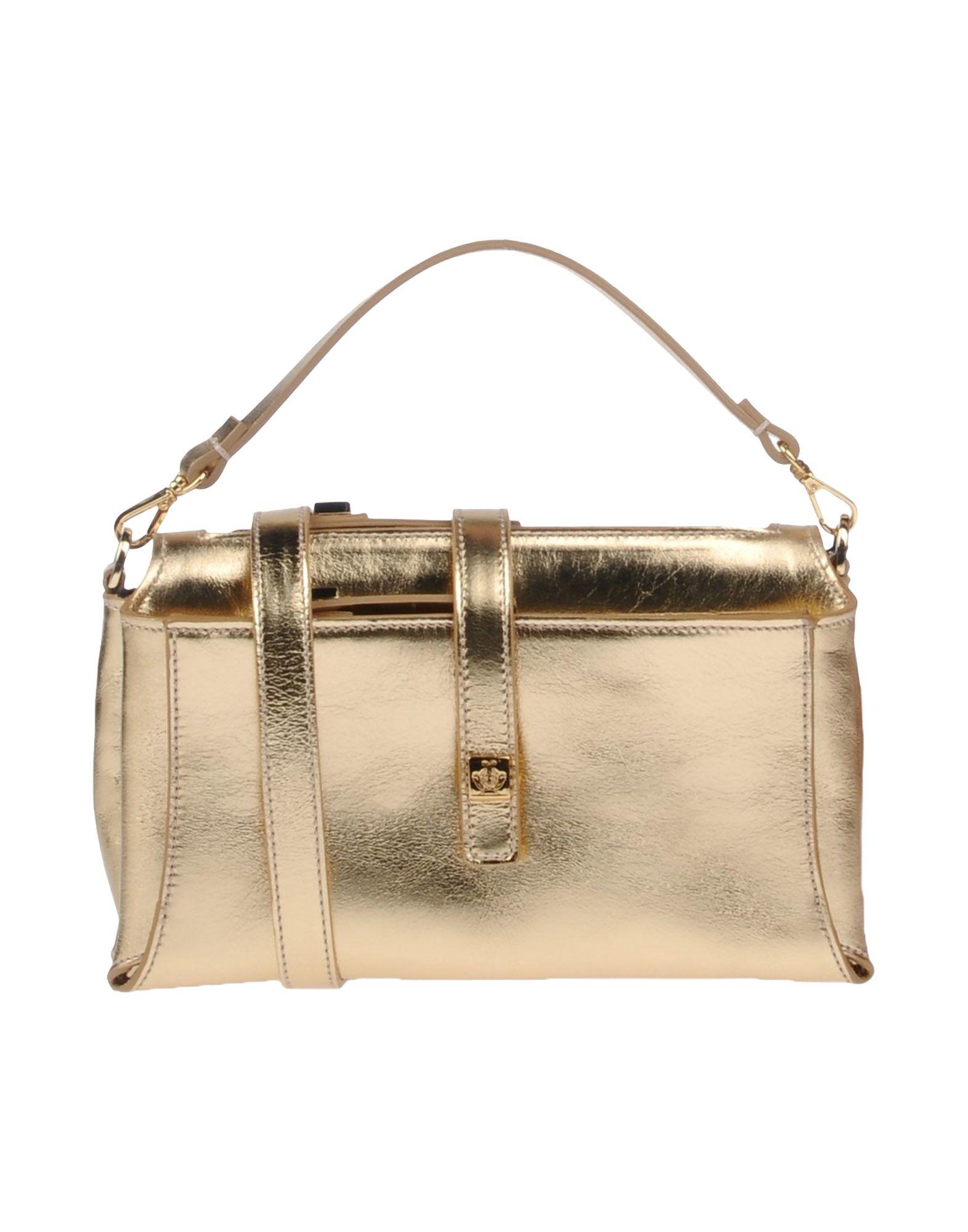 GIANCARLO PETRIGLIA Handbag in Gold