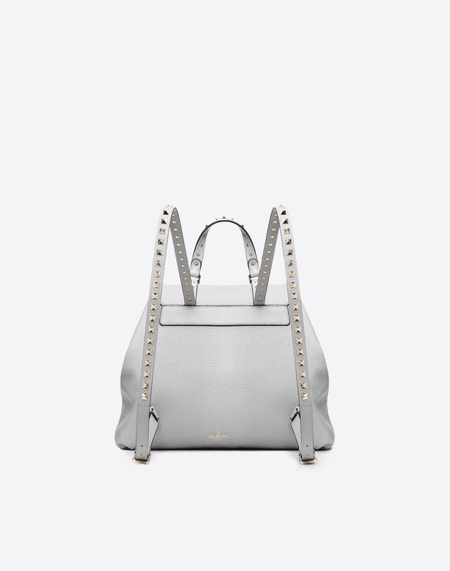 Rockstud Leather Backpack