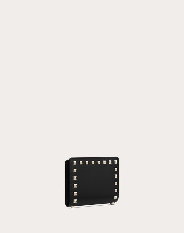 Rockstud Zipped Wallet
