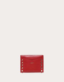 Rockstud Zipped Wallet