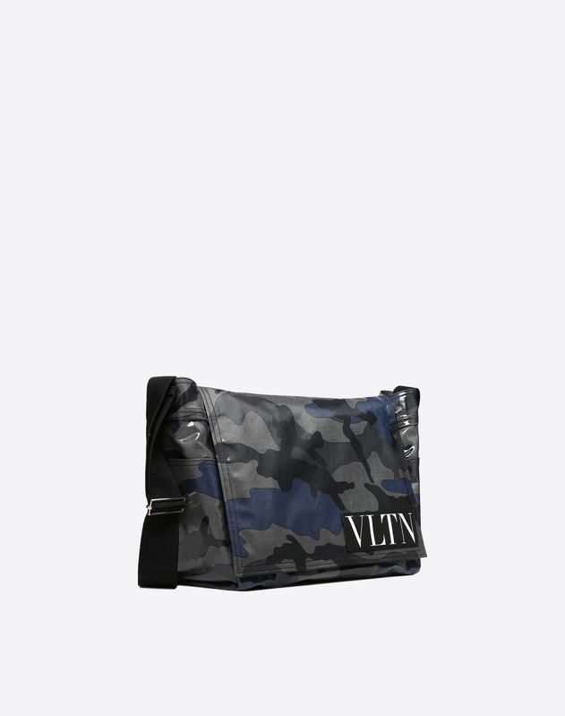 VLTN Camouflage Messenger Bag