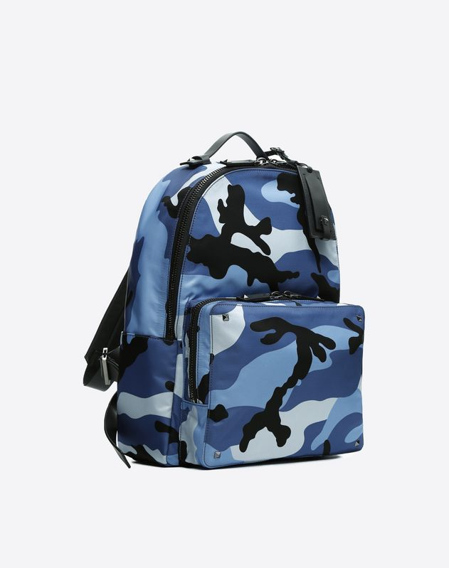 Camouflage Nylon Backpack