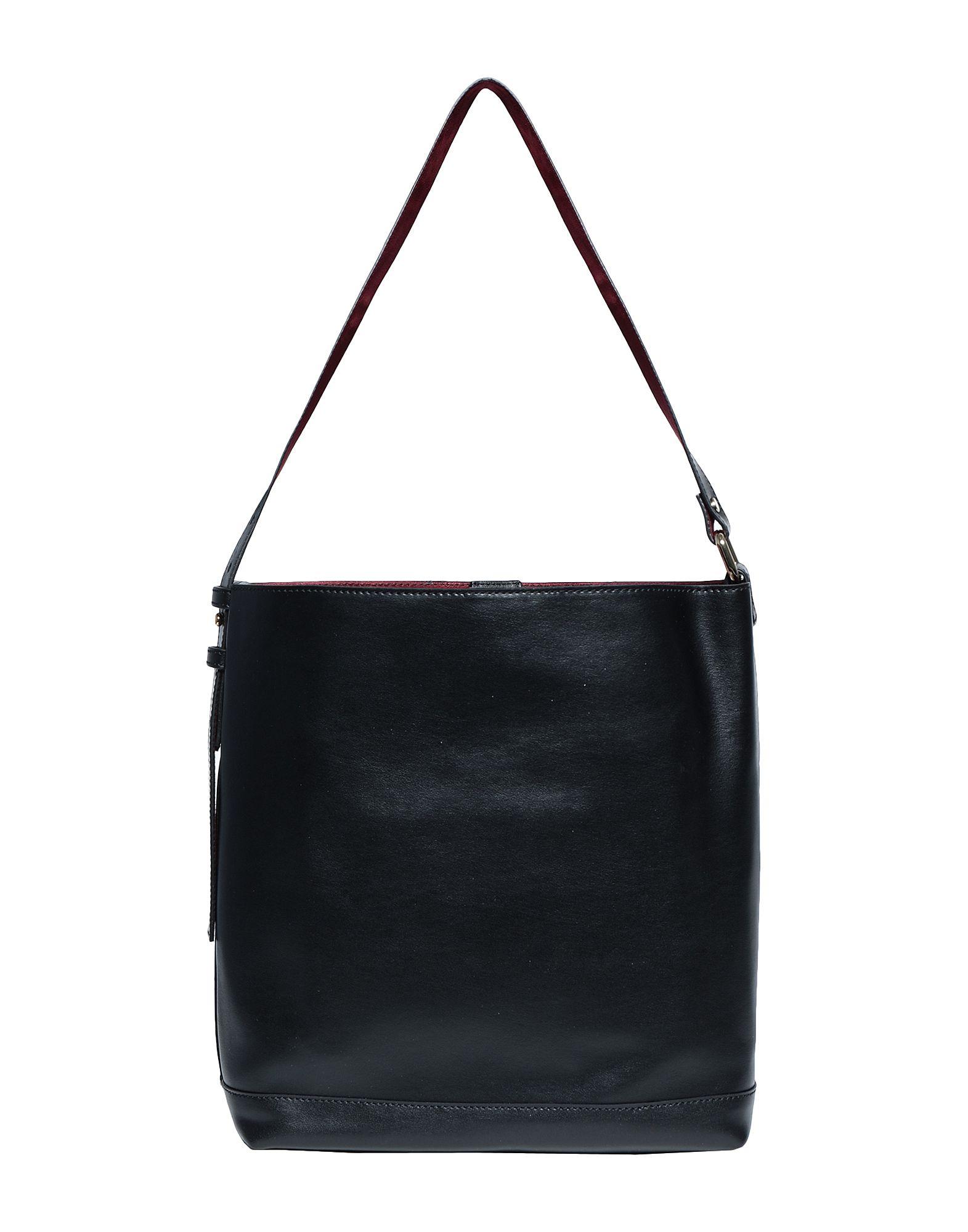 8 by YOOX Сумка на плечо sammons sammons мужской заголовок слой кожи плеча мешок человек сумка досуг сумка 190263 01 черный