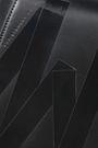CHRISTOPHER KANE Neon-trimmed leather shoulder bag