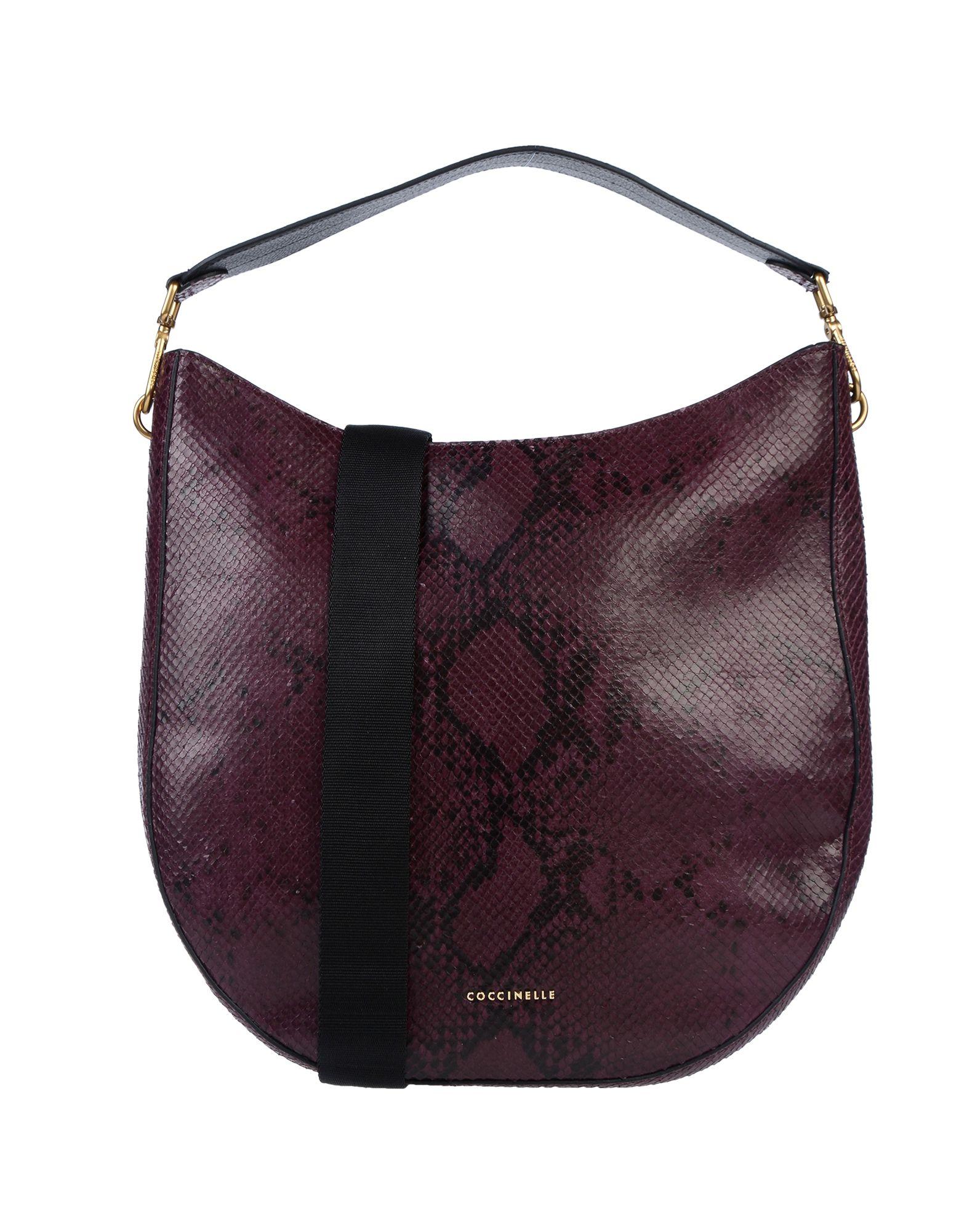 COCCINELLE Сумка на руку горячие корейской леди женщины хобо кожа pu посланника плеча сумки totes кошелек