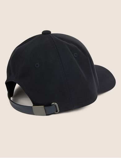 LEATHER LOGO PATCH HAT