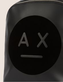 ARMANI EXCHANGE A|X EMOJI LOGO BACKPACK Backpack Woman a