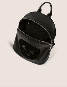 ARMANI EXCHANGE A|X EMOJI LOGO BACKPACK Backpack Woman e