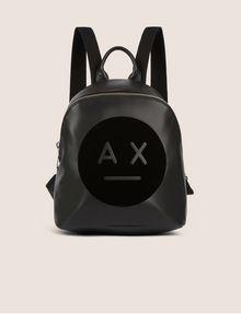 ARMANI EXCHANGE A|X EMOJI LOGO BACKPACK Backpack Woman f