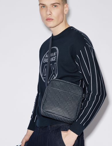 ALLOVER LOGO PRINT CROSSBODY
