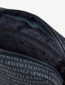 ARMANI EXCHANGE ALLOVER LOGO PRINT CROSSBODY Crossbody bag Man a