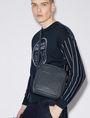 ARMANI EXCHANGE ALLOVER LOGO PRINT CROSSBODY Crossbody bag [*** pickupInStoreShippingNotGuaranteed_info ***] r