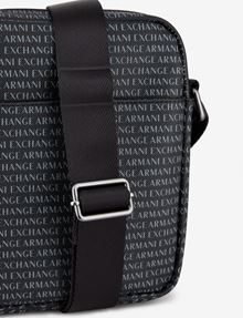 ARMANI EXCHANGE ALLOVER LOGO PRINT CROSSBODY Crossbody bag Man a