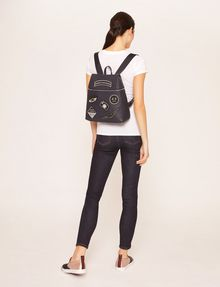 ARMANI EXCHANGE MULTI-PATCH LOGO BACKPACK Backpack Woman r