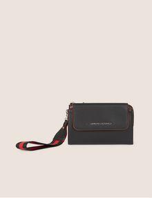 ARMANI EXCHANGE FLAP-FRONT WRISTLET WALLET Wallet [*** pickupInStoreShipping_info ***] f