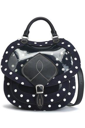 MAISON MARGIELA Printed PVC and leather shoulder bag