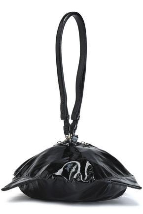 MAISON MARGIELA Convertible patent-leather wristlet bag