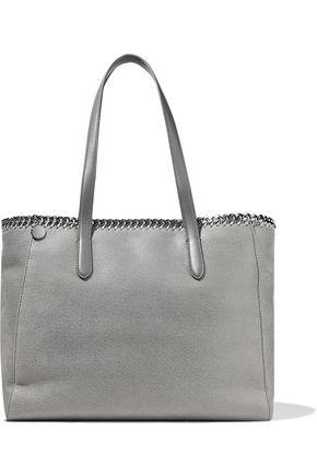 STELLA McCARTNEY Falabella faux brushed-leather tote