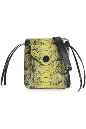 3.1 PHILLIP LIM Snake-effect leather shoulder bag