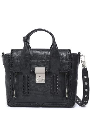 3.1 PHILLIP LIM Textured-leather shoulder bag