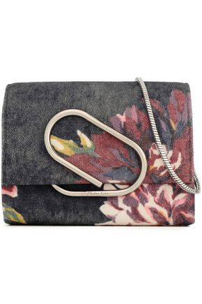 3.1 PHILLIP LIM Printed denim shoulder bag