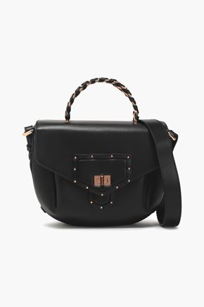 ROBERTO CAVALLI Studded leather shoulder bag
