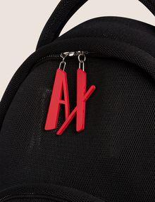 ARMANI EXCHANGE LOGO ZIPPER PULL SOFT MESH BACKPACK Backpack [*** pickupInStoreShipping_info ***] a